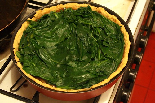 Topped with Swiss Chard
