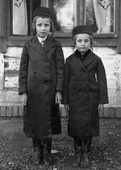 Jewish boys from Blazowa (Bluzhev) (saultakesphotos) Tags: old blackandwhite bw records boys 1930s pra poland historic nostalgia stare jewish oldp