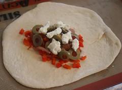 Calzone: Mozzarella