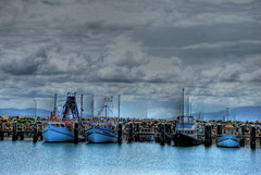 Crowdy Head Boats (Earlette) Tags: summer colour clouds boats fishing nikon rocks australia hdr crowdyhead midnorthcoast d80 earlette superbmasterpiece