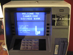 This ATM is NOT A BOMB