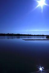 TwoSun (ZedMacca) Tags: morning blue sun reflection water canon fantastic australia nsw 07 thesource 510fave sigma1020 wowiekazowie regattacentre auselite