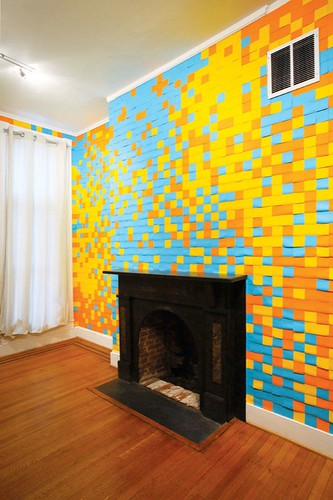 Post It Notes Art