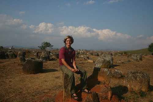 Plain of Jars. Phonsavanh. February 2007.