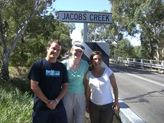 Look!  The ACTUAL Jacob's Creek!