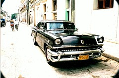 Getaway car on sight (Cracas) Tags: 2001 slr car 35mm vintage cuba trinidad printscan abigfave