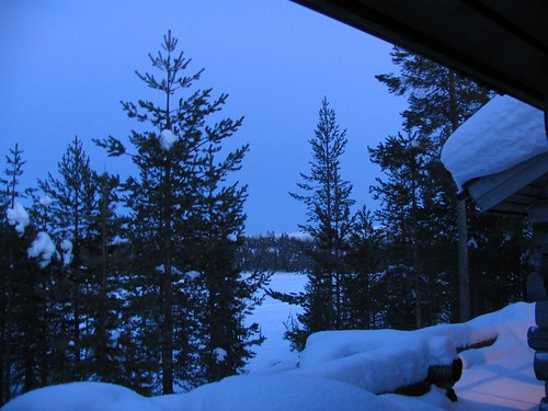The Blue moment in Lappland