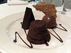 Chocolate Plate - Lake House Restaurant, Daylesford (avlxyz) Tags: food chocolate casio exilim sorbet lakehouse chocolatefondant daylesford marquise fondant z850 chocolatesorbet chocolatemarquise