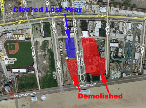 Demolition Map