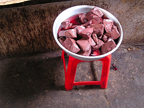 Pig's Blood Tofu