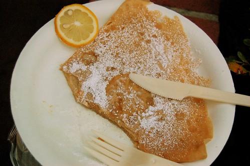 Lemon Crepe.