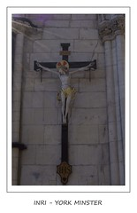 INRI - YORK MINSTER (Magdalen Green Photography) Tags: york church christ sacred crucifix inri yorkminster ihs