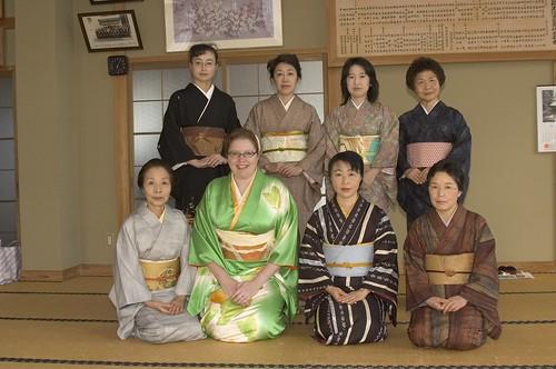 at kimono class
