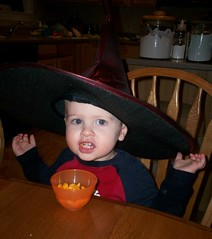 he's a witch