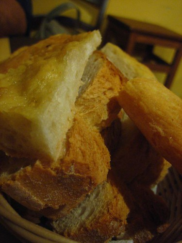 Bread Basket, with Pane Toscano and Schiacciata