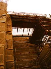 Scaffold (New England Quarter) (Hive.) Tags: new deleteme5 deleteme8 england deleteme deleteme3 deleteme4 deleteme6 deleteme9 deleteme7 brighton deleteme10 scaffold quarter