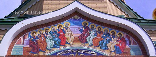 Monastery Mosaic of Apostles-1