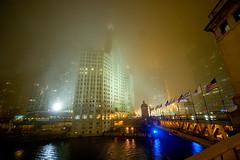 Foggy Night (fensterbme) Tags: nightphotography chicago 20d fog river interestingness wrigleybuilding michiganavenue chicagoriver foggynight fensterbme interestingness416 i500 explore23mar07 chicagoweekendtripwjimmyanddan