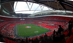 Wembley Panorama-England Vs Italy U21s