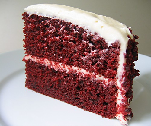 Can Velvet Cake Caude Saliva To Be Red