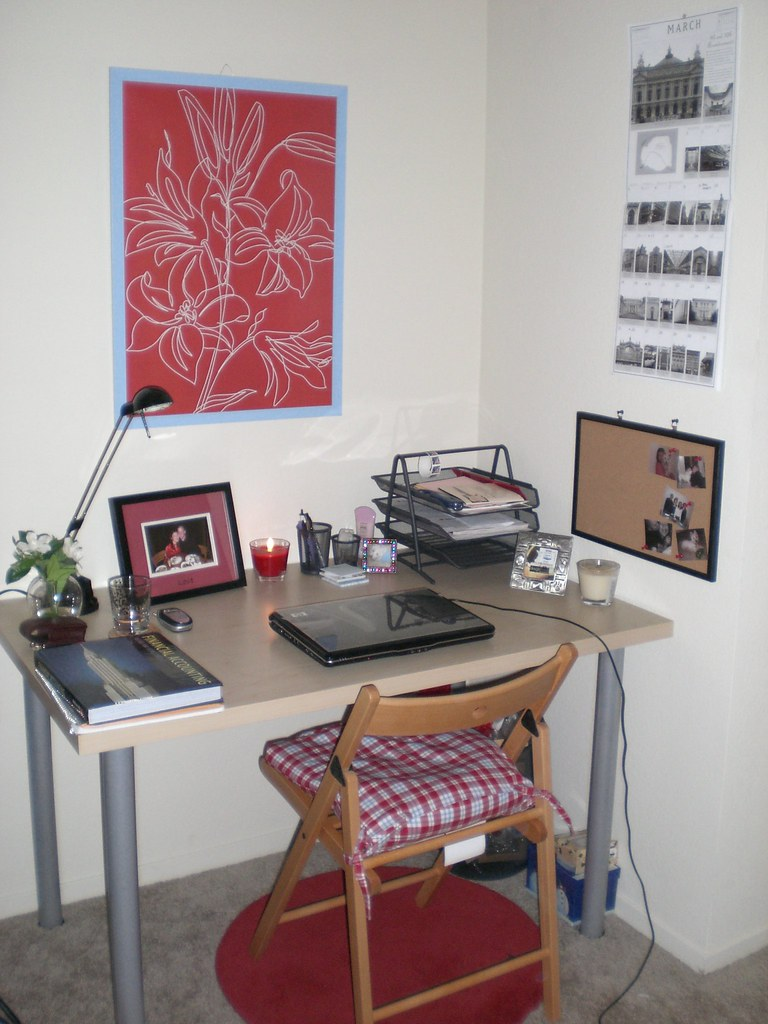 My new office/study area