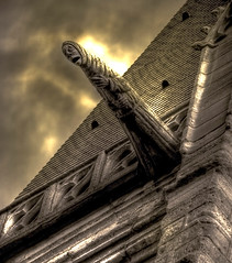 Gargoyle at Saint Severin Paris France (fotofacade) Tags: paris saint gothic gargoyle horror severing fotofacade