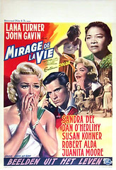 Imitation of Life belgian poster (jon rubin) Tags: movieposter melodrama imitationoflife lanaturner douglassirk