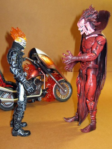 Ghost Rider and Mephisto