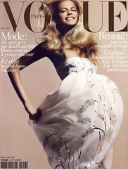 Vogue Paris Mai 2005 (Ze Cali Fairy) Tags: fashion model cover davidsims frenchvogue vogueparis juliastegner karltempler dianekendal