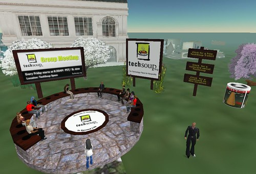 Meeting in Second Life