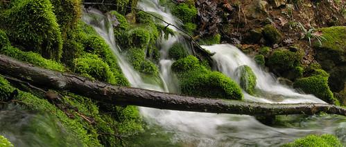 Susec waterfall in Ilirska Bistrica, Slovenia