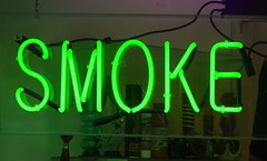 Smoke (Thomas Hawk) Tags: sanfrancisco california city usa sign neon unitedstates smoke unitedstatesofamerica northbeach bong northbeachdistrict photowalking7