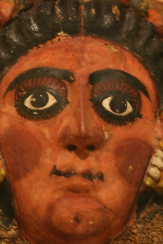 Face from a Mummy Shroud