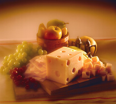 swiss cheese (fhansenphoto) Tags: food fruit cheese