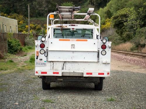 HiRail truck