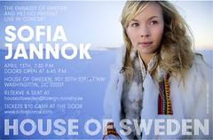 Sofia Jannok @ House of Sweden (Seeking Irony) Tags: hejhej houseofsweden sofiajannok