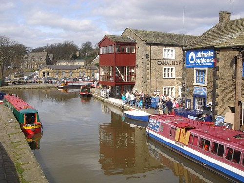 Canal in Skipton