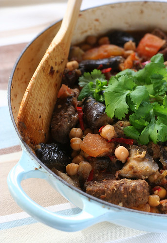 North African Lamb with Chilli, Ginger and Chickpeas