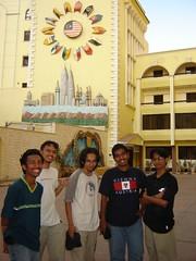 Di dalam kawasan Rumah Malaysia Abbasiyah, Kaherah, Mesir