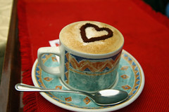 I love...... (threejumps) Tags: coffee cafe italia heart capucino