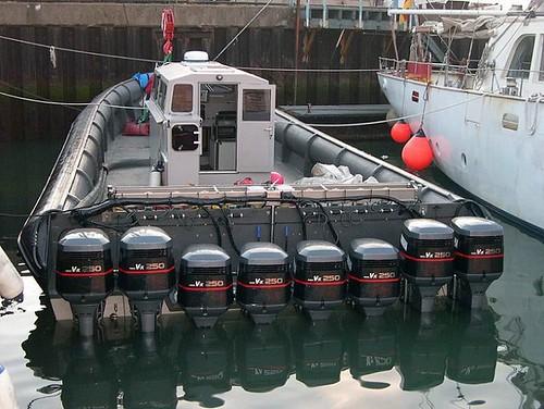 British contraband boat
