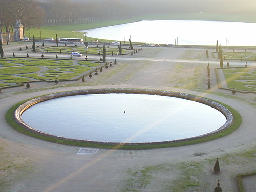 garden in Versailles