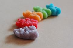 sour gummi bears - by Bright_Star