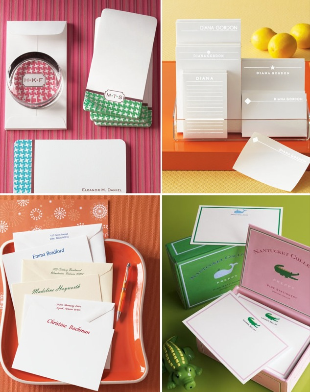 Stationery at Neiman Marcus