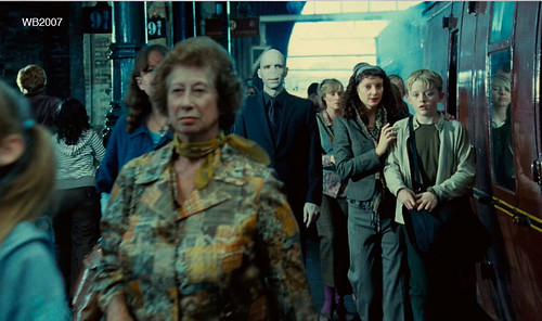 Harry potter estación del tren Voldemort