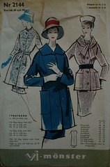 sewing pattern coat & skirt (malinusen) Tags: vi mnster 60tal