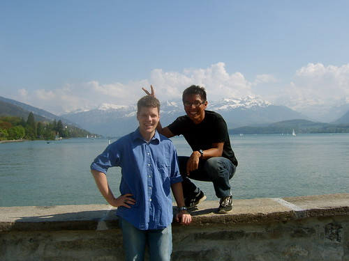 Lake Thun - Aaron and me