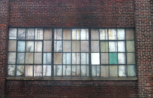 eastcoastwestcoast: Old Warehouse Windows