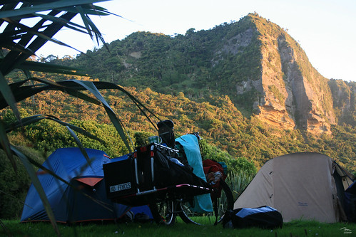 Campsite at Punakaiki