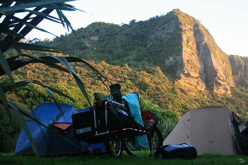 Campsite at Punakaiki